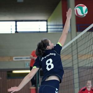 VfR Volleyball Damen Abwehr